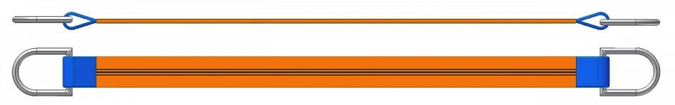 Dvižni trak z dvema navadnima obročema DTD 1000