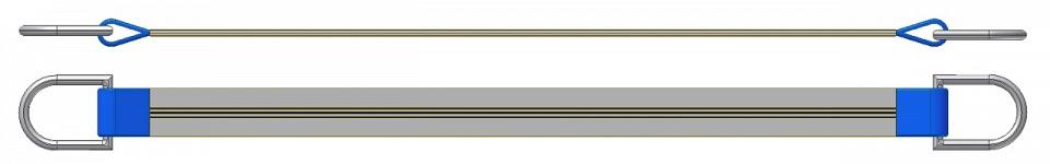 Dvižni trak z dvema navadnima obročema DTD 400