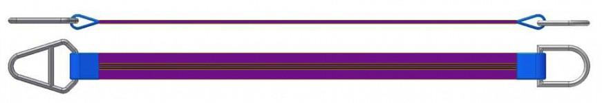 Dvižni trak z navadnim in triangel obročem DTO 100