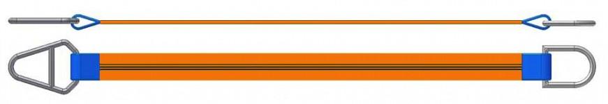 Dvižni trak z navadnim in triangel obročem DTO 1500