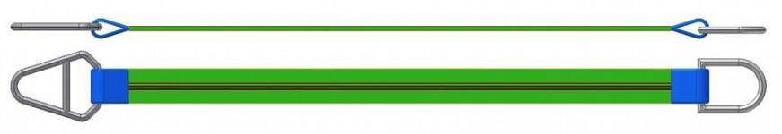 Dvižni trak z navadnim in triangel obročem DTO 200