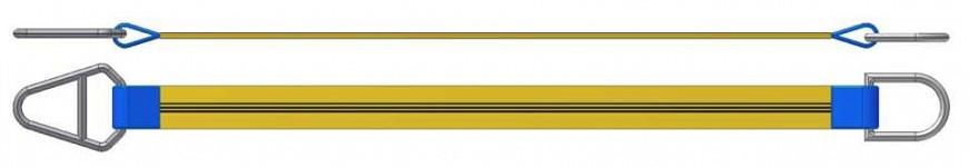Dvižni trak z navadnim in triangel obročem DTO 300