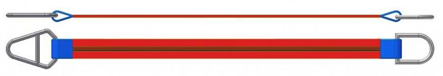 Dvižni trak z navadnim in triangel obročem DTO 500