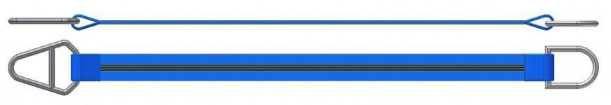 Dvižni trak z navadnim in triangel obročem DTO 800