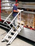 Aluminum adjustable stairs AV60
