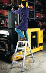 Professional Alu ladder two-sided 6033
