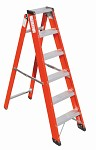 A Ladder with tool tray V016