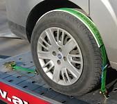Povezovalni trak za avtomobile TKR - EV, 2500/5000 daN