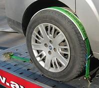 Povezovalni trak za avtomobile TKP - EV, 1000/2000 daN