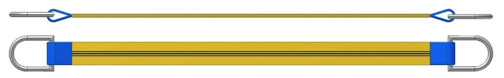 Dvižni trak z dvema navadnima obročema DTD 300