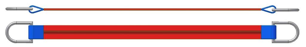 Dvižni trak z dvema navadnima obročema DTD 500