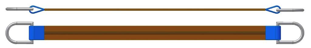Dvižni trak z dvema navadnima obročema DTD 600