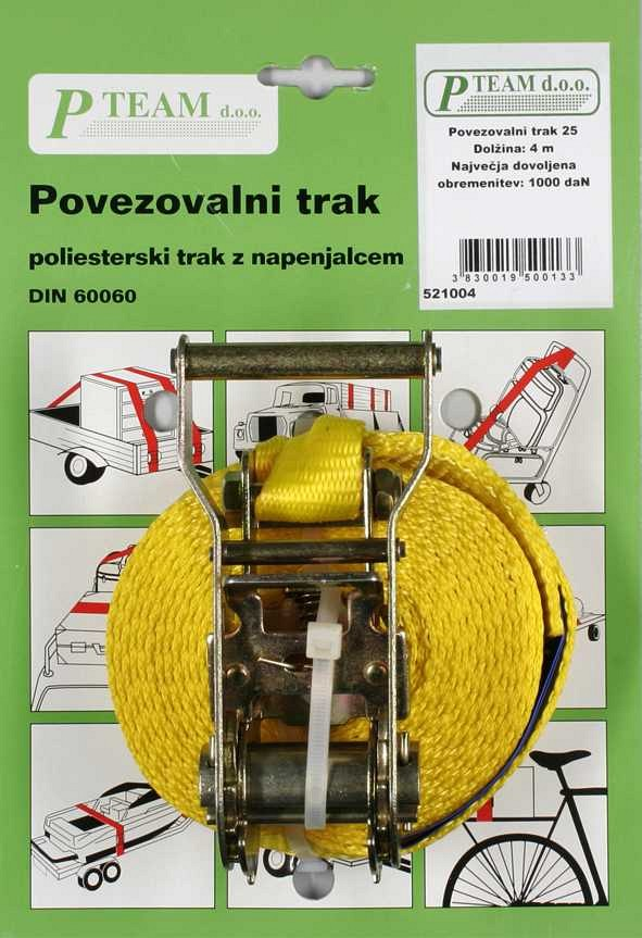 Povezovalni trak 25 mm, 1000 daN