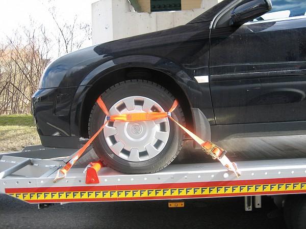 Povezovalni trak za avtomobile ROB - EV, 2000/4000 daN