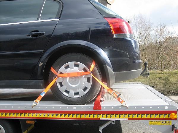 Povezovalni trak za avtomobile ROB - EV, 1000/2000 daN
